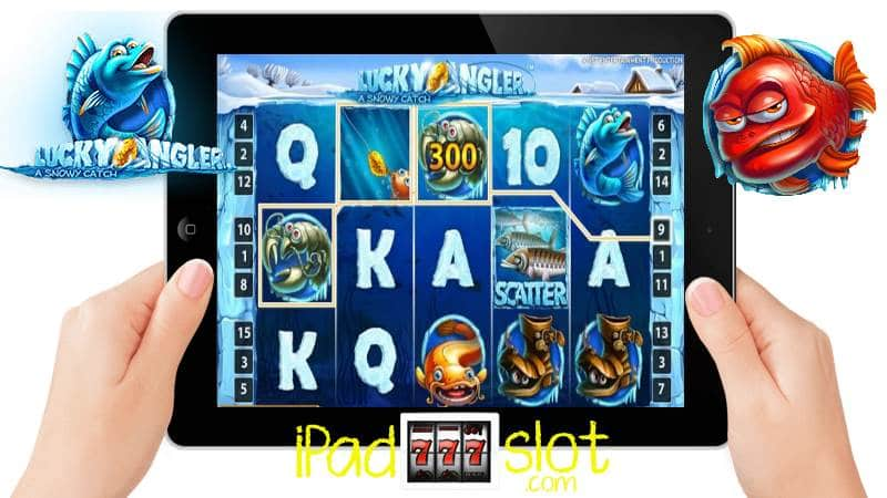 Lucky Angler a Snowy Catch iPad Slots Review