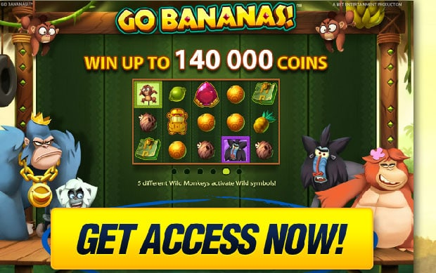 Go Bananas iPad Slot Machine Review and Free Play