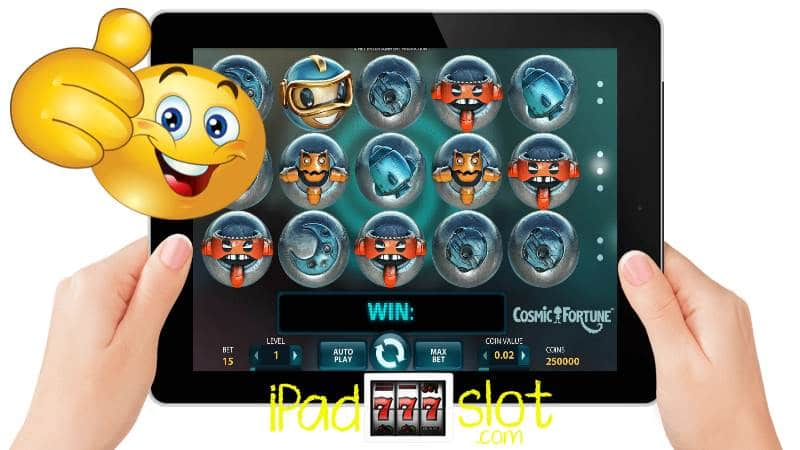 Cosmic Fortune iPad Slots Review