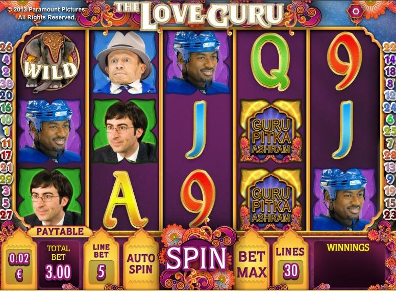 The Love Guru Online Slots Game Guide