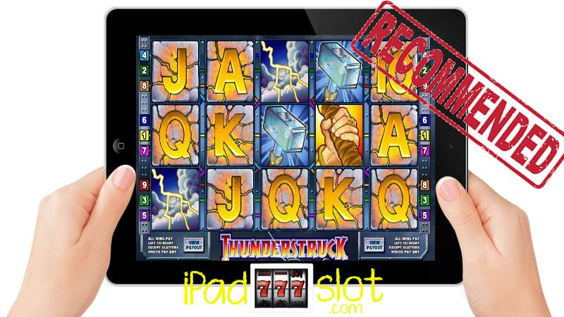 Thunderstruck iPad slots review