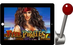 Five Pirates Free iPad Slots