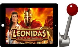 Leonidas King of Spartans Free iPad Slots