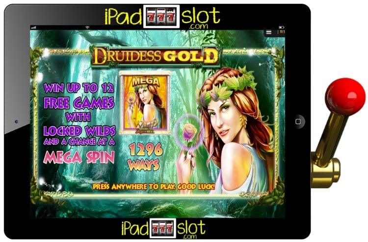 NYX Druidess Gold iPad Pokie Free Play Guide