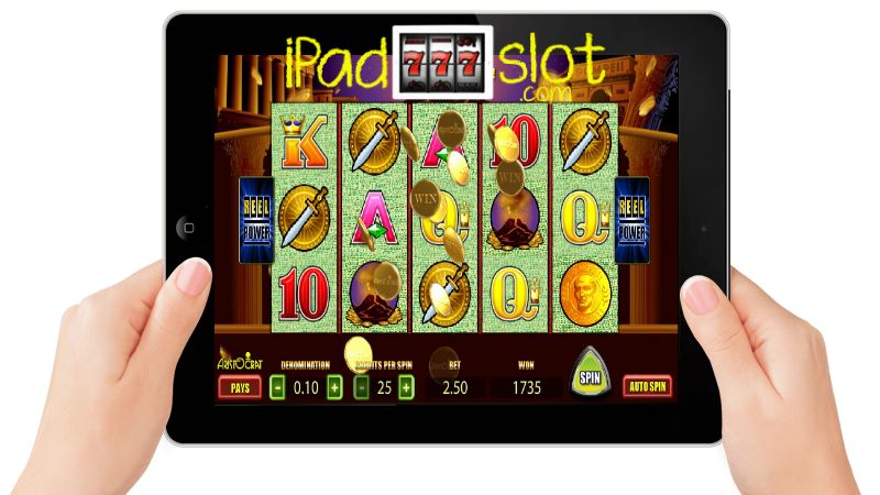 Pompeii Slots app for iPad Casino Players