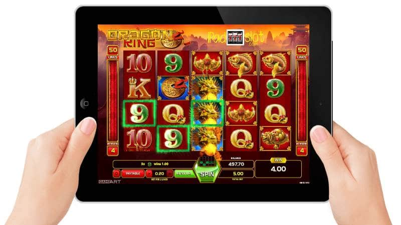 GameArt Dragon King Free Slots Review