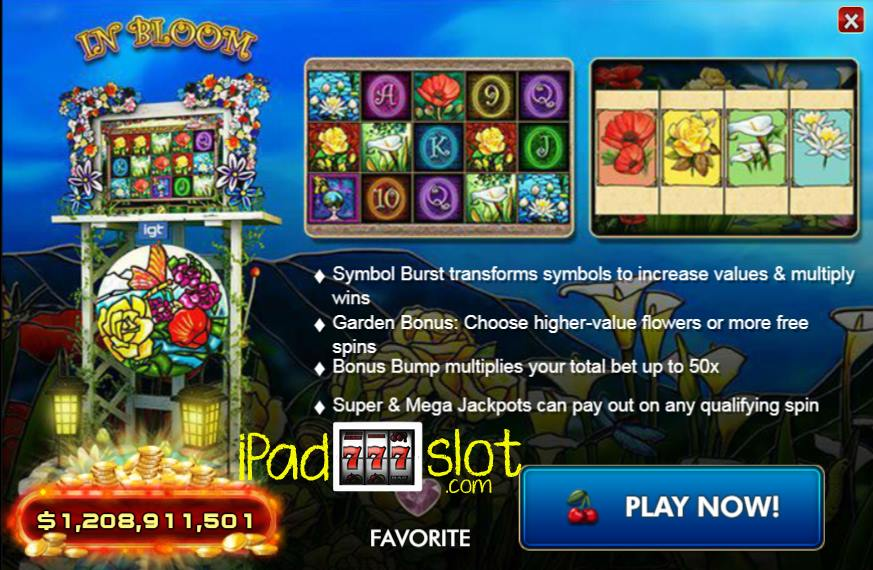 Spiele In Bloom - Video Slots Online