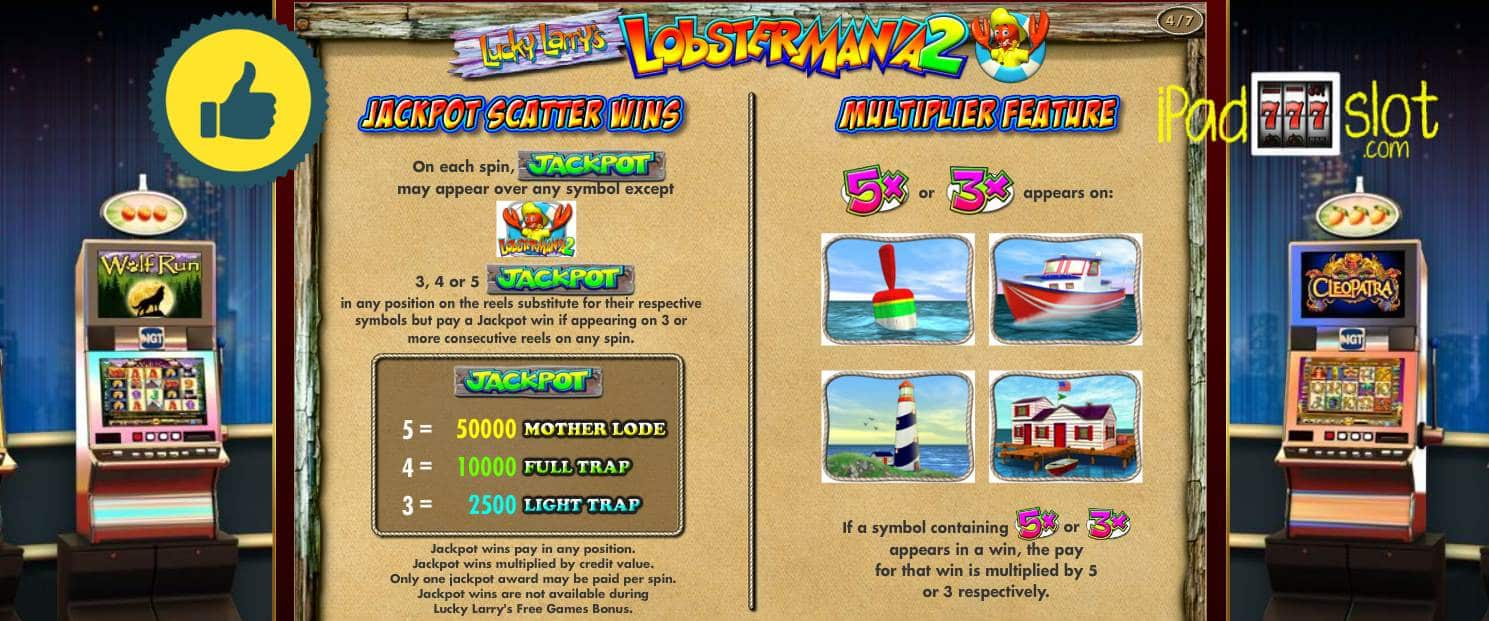 Lobstermania slots app with real prizes