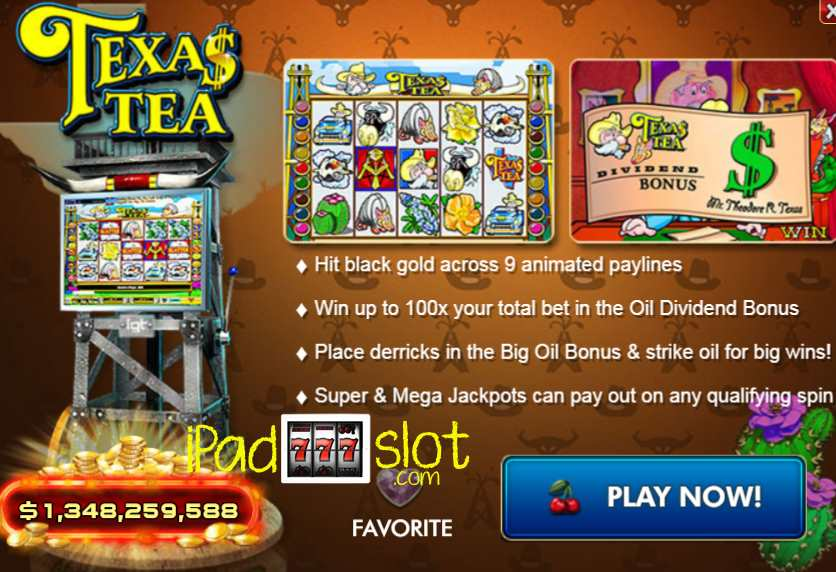 Texas Tea Slots For Ipad