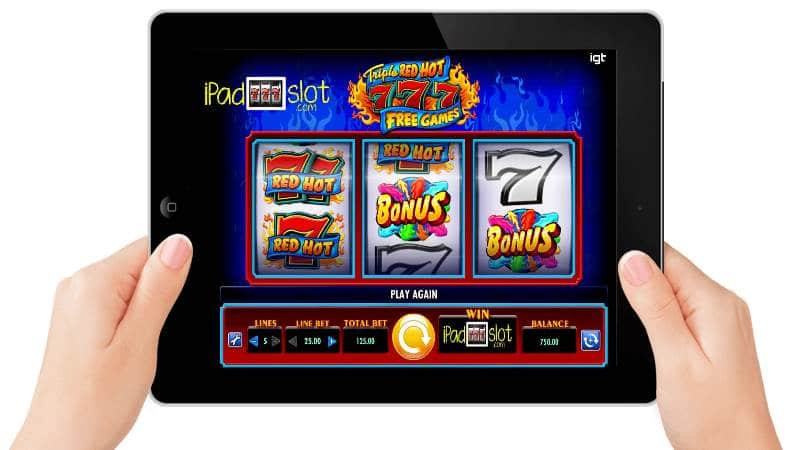 d2c42e31e09325 The IGT Triple Red Hot 777 slot can be played for free social gaming or real  cash rewards today on your iPad