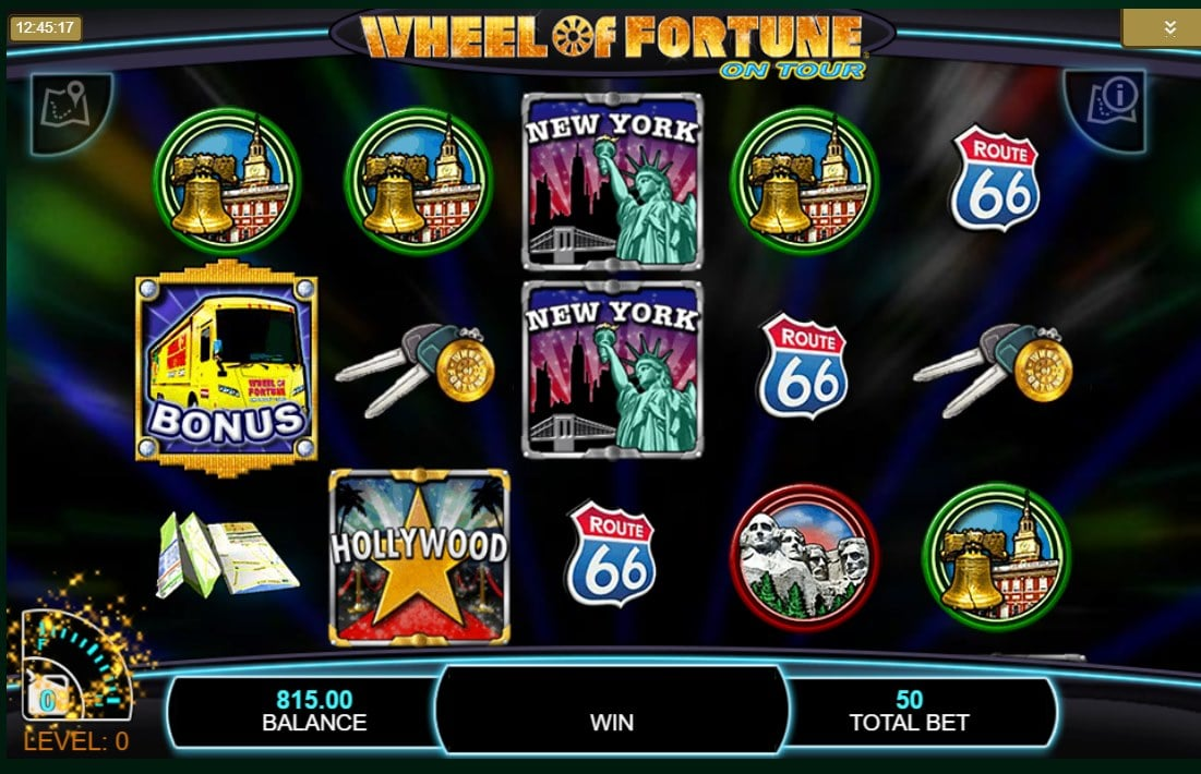 Wheel of fortune on tour slot machine free real money versions