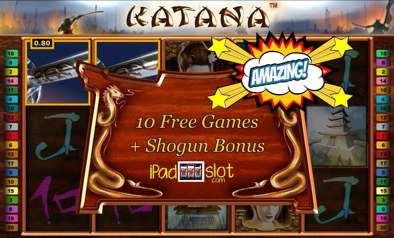 Free Slot Games Katana