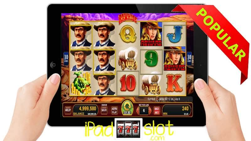 Rawhide Slots by Konami Free Play Version