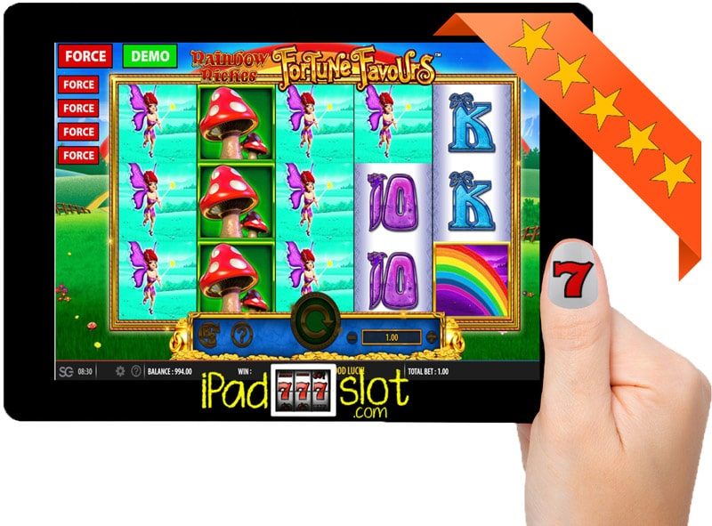 Rainbow Riches Fortune Favours Free App