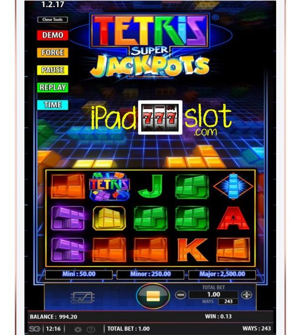 Tetris Super Jackpots Bally Free Play Slots Guide