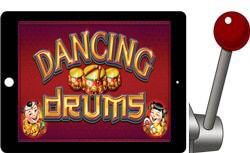 Dancing Drums free ipad slots