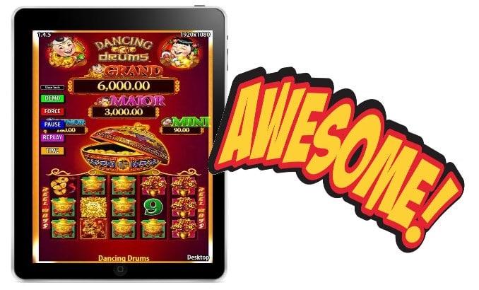 Dancing Drums Shuffle Master Free Slot App