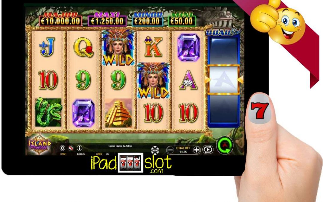 Island Princess Quad Shot Free Ainsworth iOS Slots