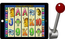 Queen of the Nile 2 free ipad slot