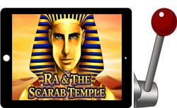 Ra & The Scarab Temple free ipad slot