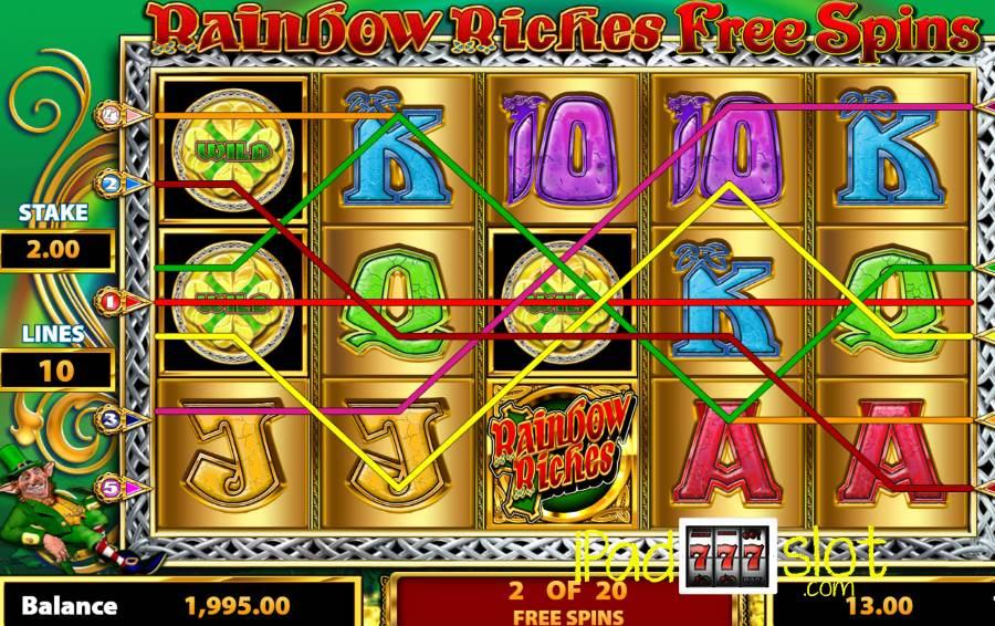 Rainbow riches community slots