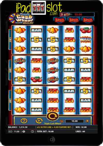 Triple Cash Wheel Bally Free Slot App
