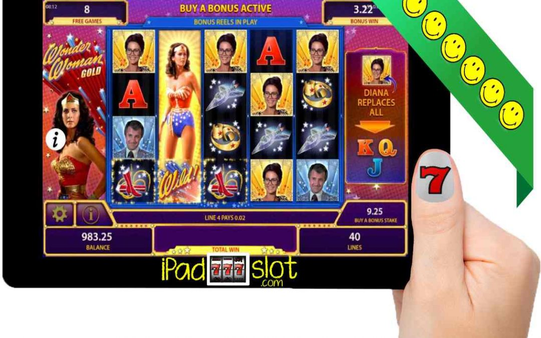 Wonder Woman Gold Free Bally Slot App