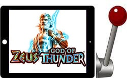 Zeus God of Thunder free ipad slot