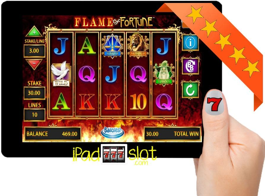 Flame of Fortune Barcrest Free Slots Game