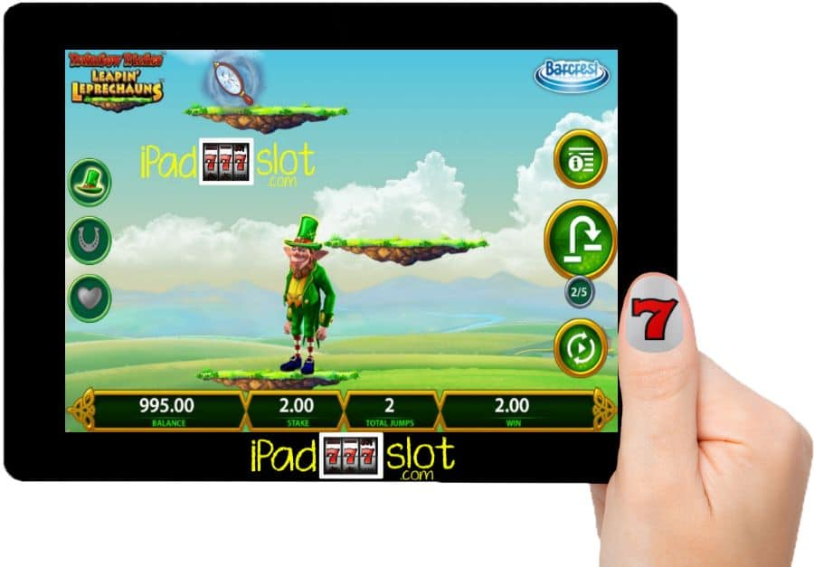 Leapin' Leprechauns Barcrest Game App