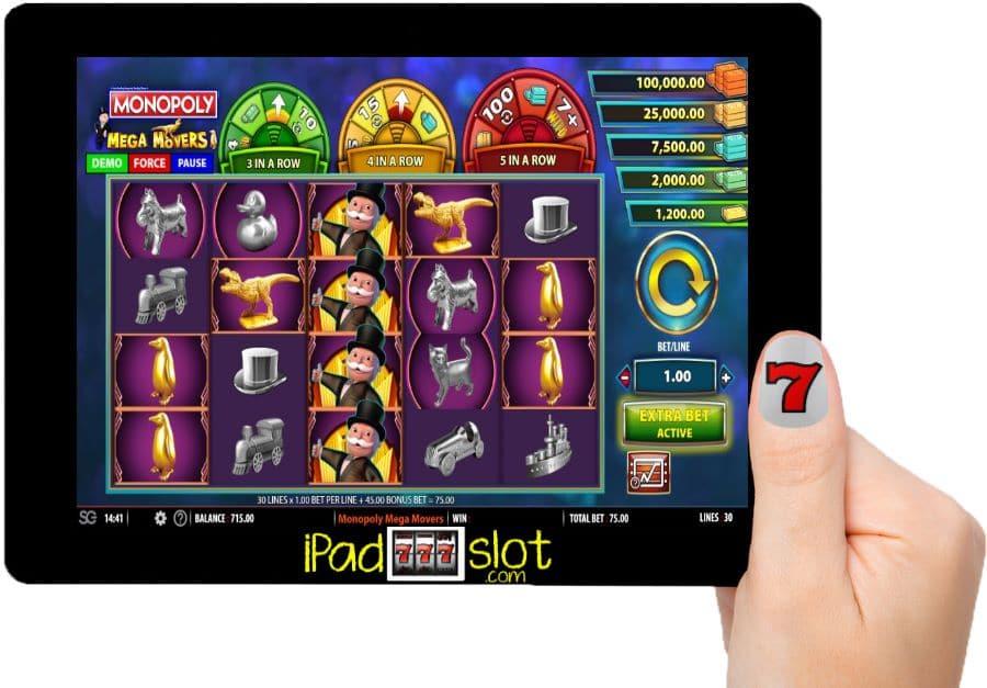 Monopoly Mega Movers Williams Free Casino App