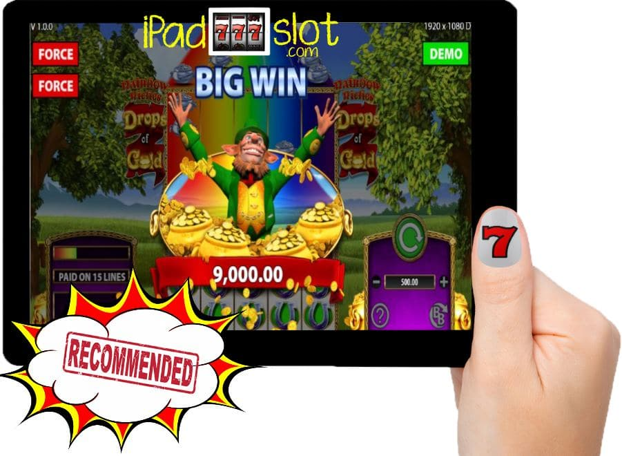 Rainbow Riches Drops of Gold Free Barcrest Slot