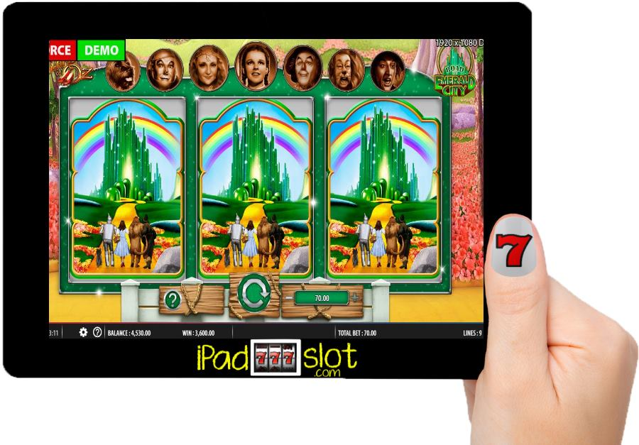 The Wizard of Oz Road to Emerald City Free Slot App
