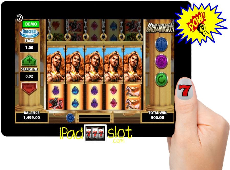 Hercules High and Mighty Barcrest Free Slots App