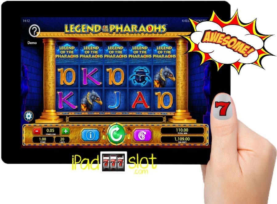 Legend of the Pharaohs Free Barcrest iPhone Slots