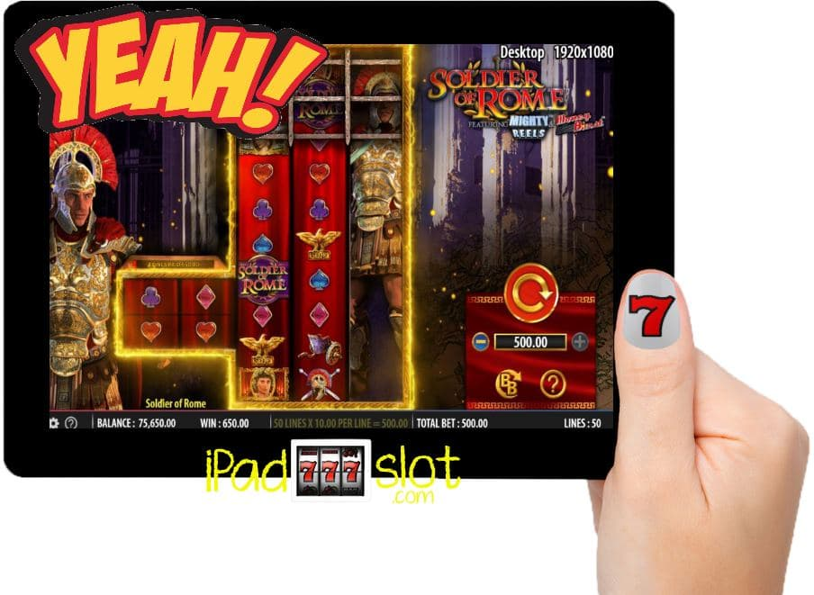 Soldier of Rome Barcrest Free Slots App