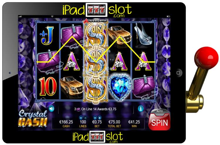Crystal cash ainsworth casino slots Gölköy