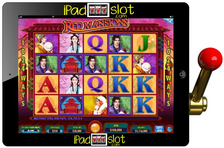 Red Mansions Asian Themed IGT Slots App Guide