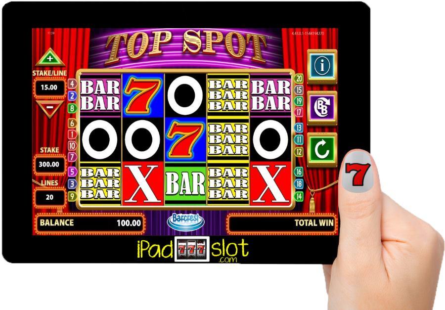 Top Spot Barcrest Slots Free App