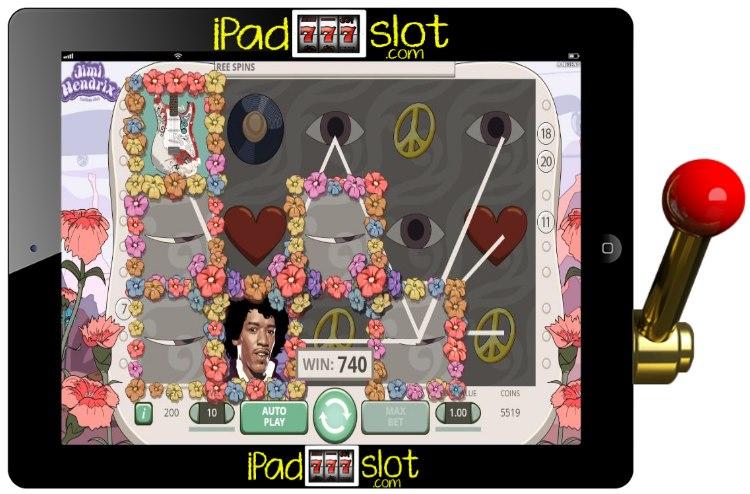 Jimi Hendrix Free NETENT Slots Game App Guide