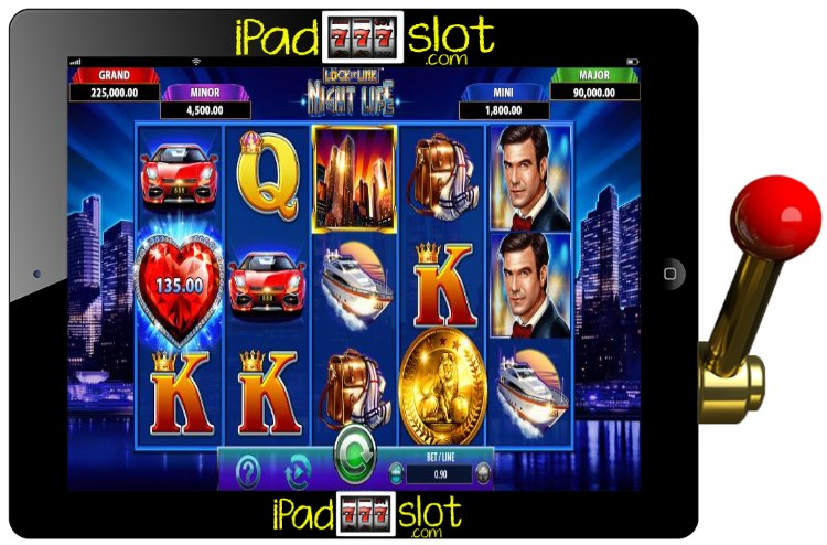 Lock it Link Night Life WMS Slot Machine Game App Guide ...