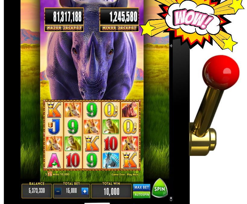 Rhino Rush Free Aristocrat Pokies Game