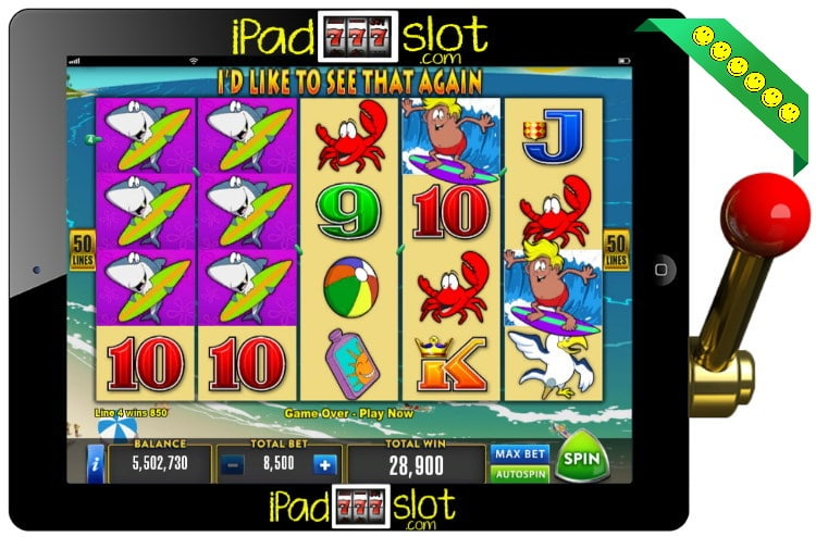 Surftastic Free Aristocrat Pokies Game
