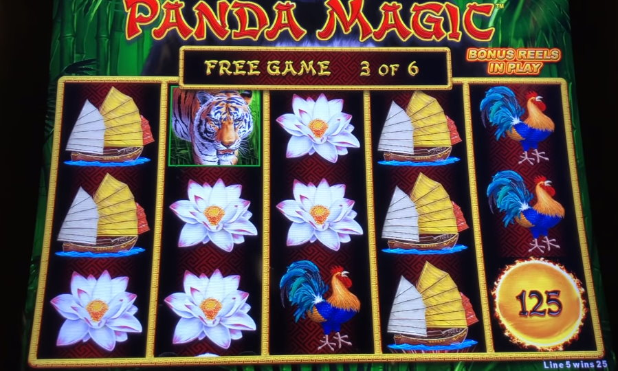 Spirit Guide Panda Slot Machine