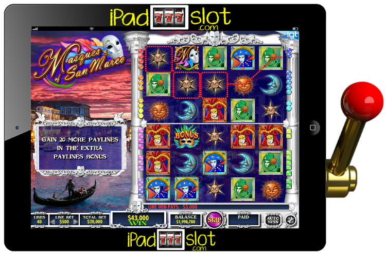Masques of San Marco IGT Slot Free Play Guide