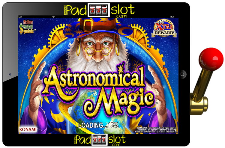 Astronomical Magic Free Konami Pokies Game