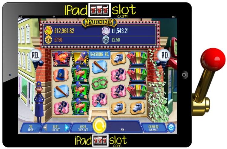Keystone Kops Free IGT Slots Game