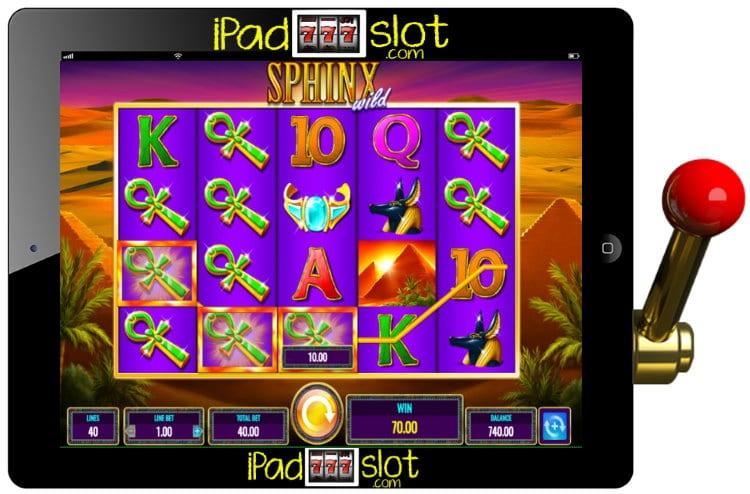 Sphinx Wild Free IGT Slot Game