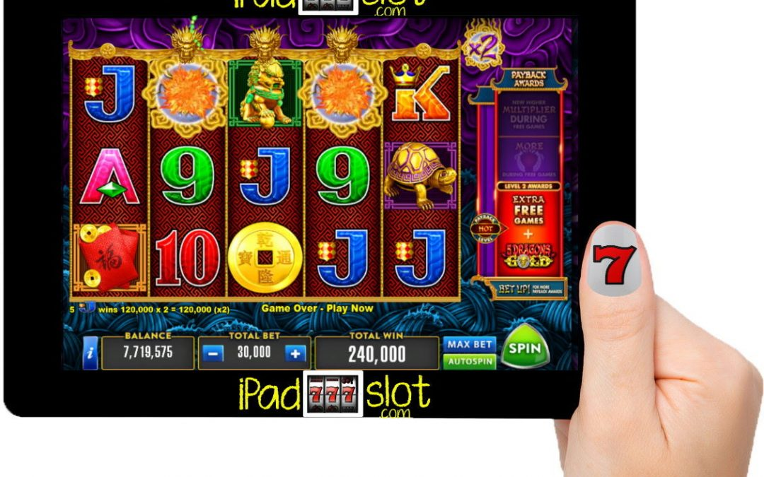 Aristocrat 5 Dragons Gold Max Free Slot Game