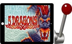 5 Dragons free ipad slot